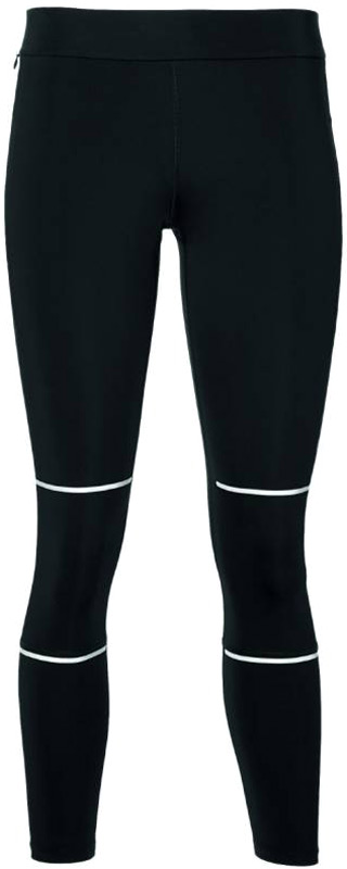 Тайтсы женские Asics Lite-Show 7/8 Tight, цвет: черный. 154535-0904. Размер XS (42) тайтсы для бега женские asics fuzex 7 8 tight цвет синий 141260 1194 размер xl 50 52