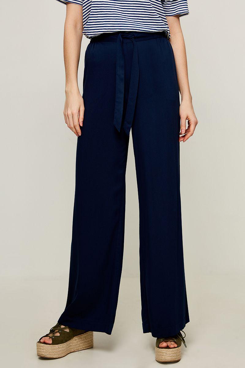 Брюки женские Zarina, цвет: темно-синий. 8225205705047. Размер 48 брюки zarina zarina za004ewxrm01