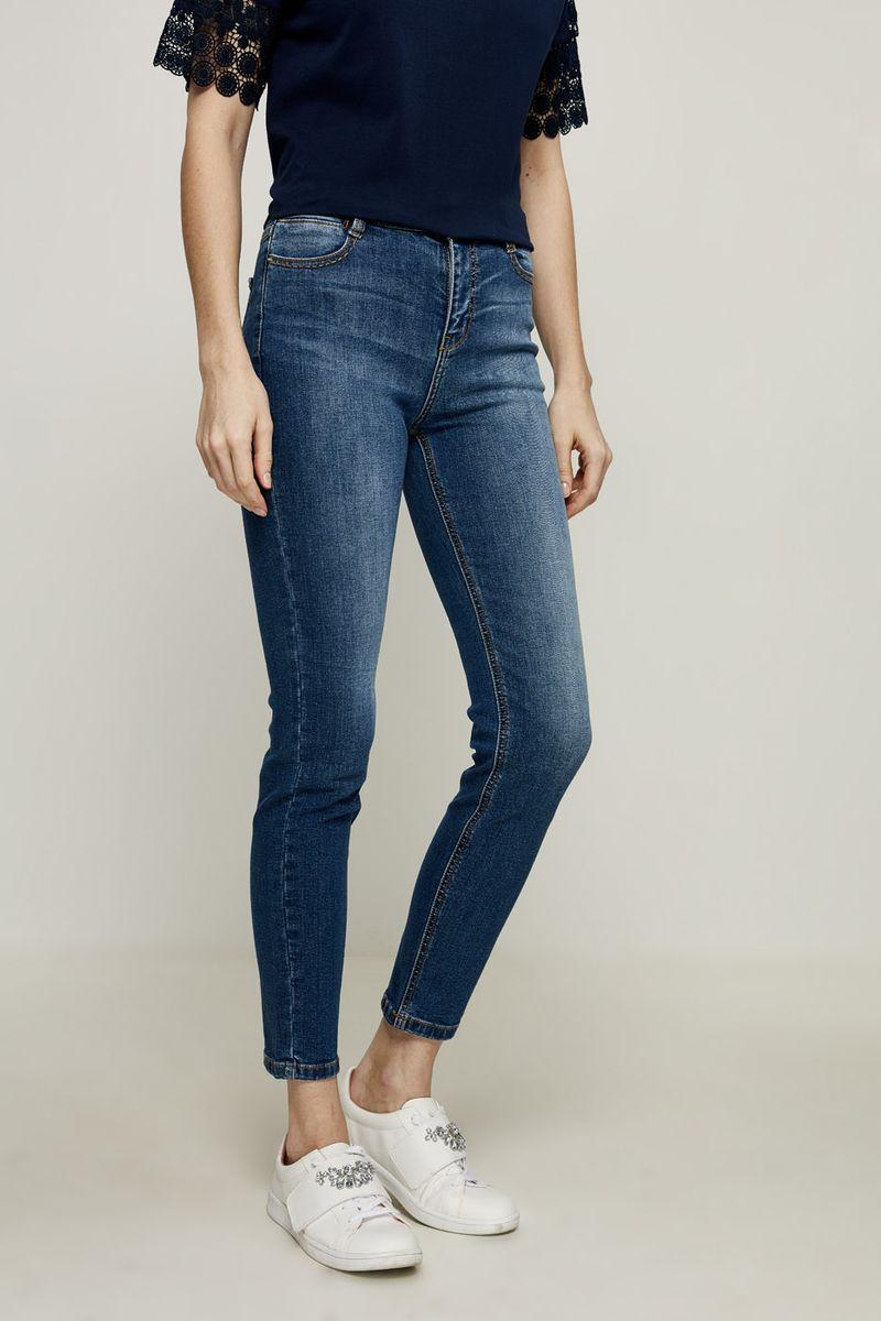 Джинсы женские Zarina, цвет: синий. 8224436736103. Размер 52 джинсы женские zarina цвет синий 8224437737103 размер 42