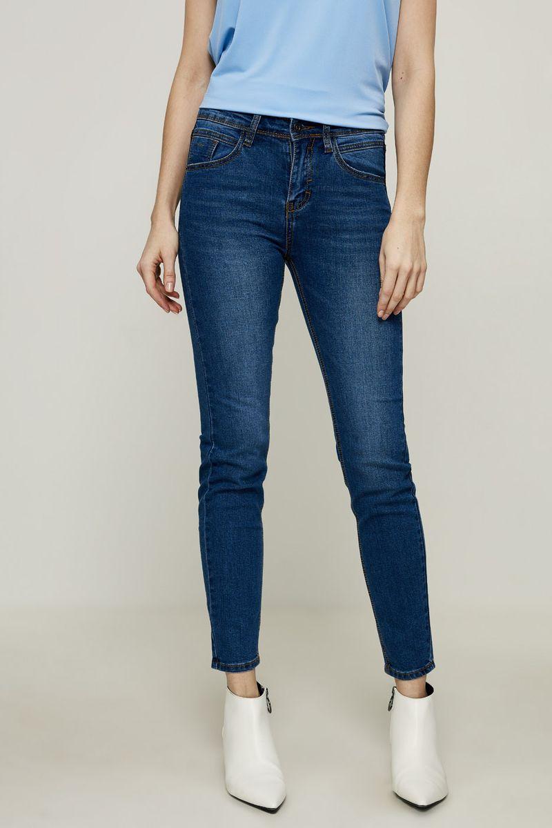 Джинсы женские Zarina, цвет: синий. 8224437737101. Размер 46 брюки женские zarina цвет черный 8224223714050 размер 46