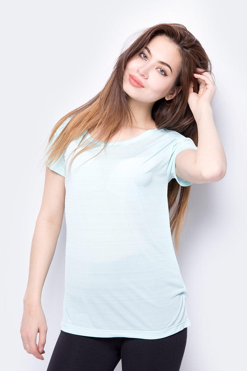 Футболка женская Roxy Dakota Dreaming, цвет: мятный. ERJKT03390-BEK0. Размер XL (48) футболка женская roxy clouds цвет синий erjkt03259 pqf0 размер 48 xl