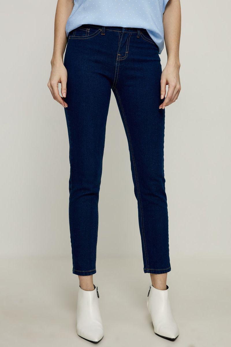 Джинсы женские Zarina, цвет: темно-синий. 8224435735104. Размер 48 брюки женские zarina цвет синий 8224201700040 размер 44