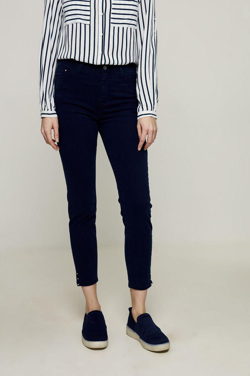 Джинсы женские Zarina, цвет: темно-синий. 8224440740104. Размер 52 брюки zarina zarina za004ewxrm01