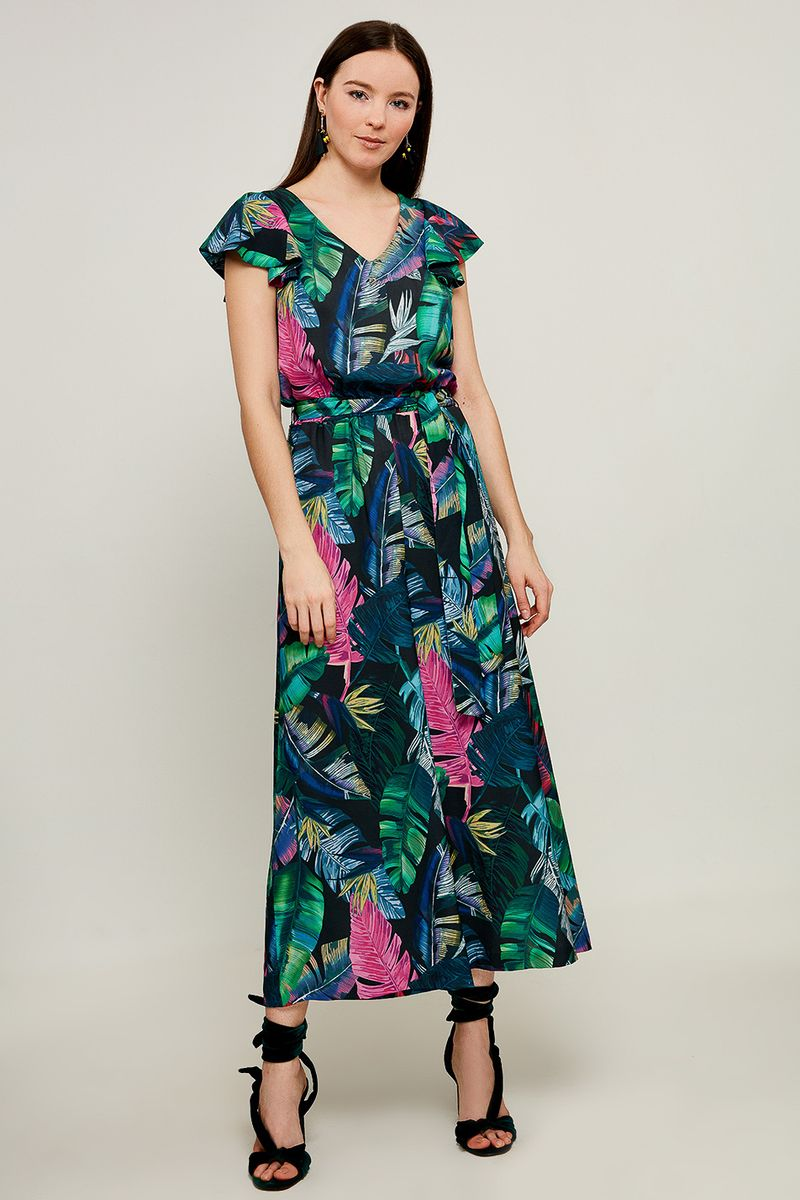 Комбинезон женский Zarina, цвет: разноцветный. 8225200700099. Размер 44 брюки zarina zarina za004ewxrm01