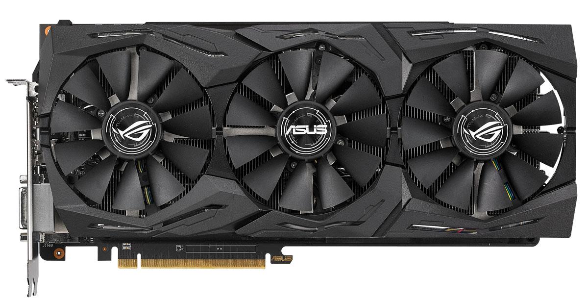 ASUS ROG Strix Radeon RX Vega 56 OC 8GB видеокарта