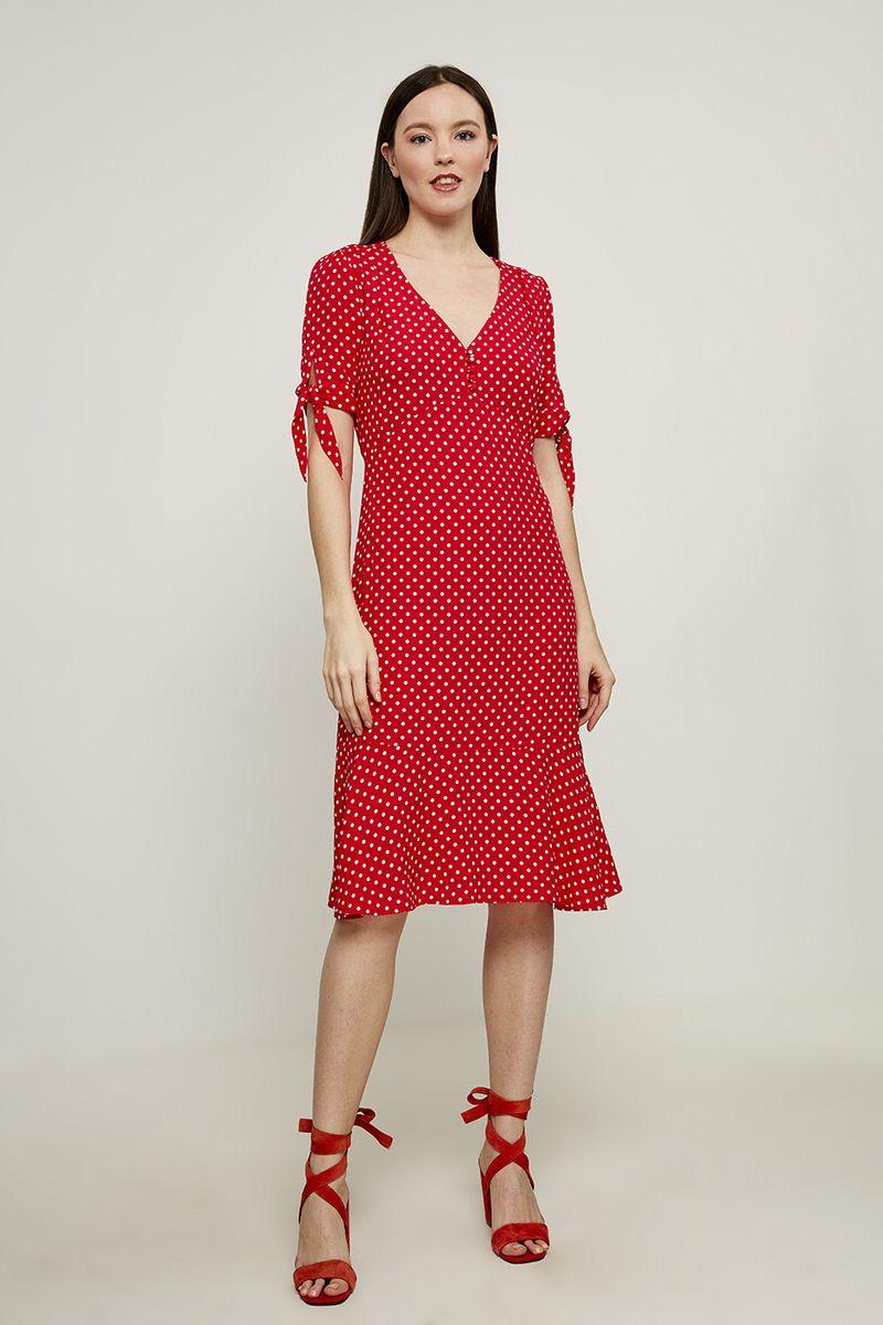 Платье Zarina, цвет: красный. 8224005505075. Размер 46