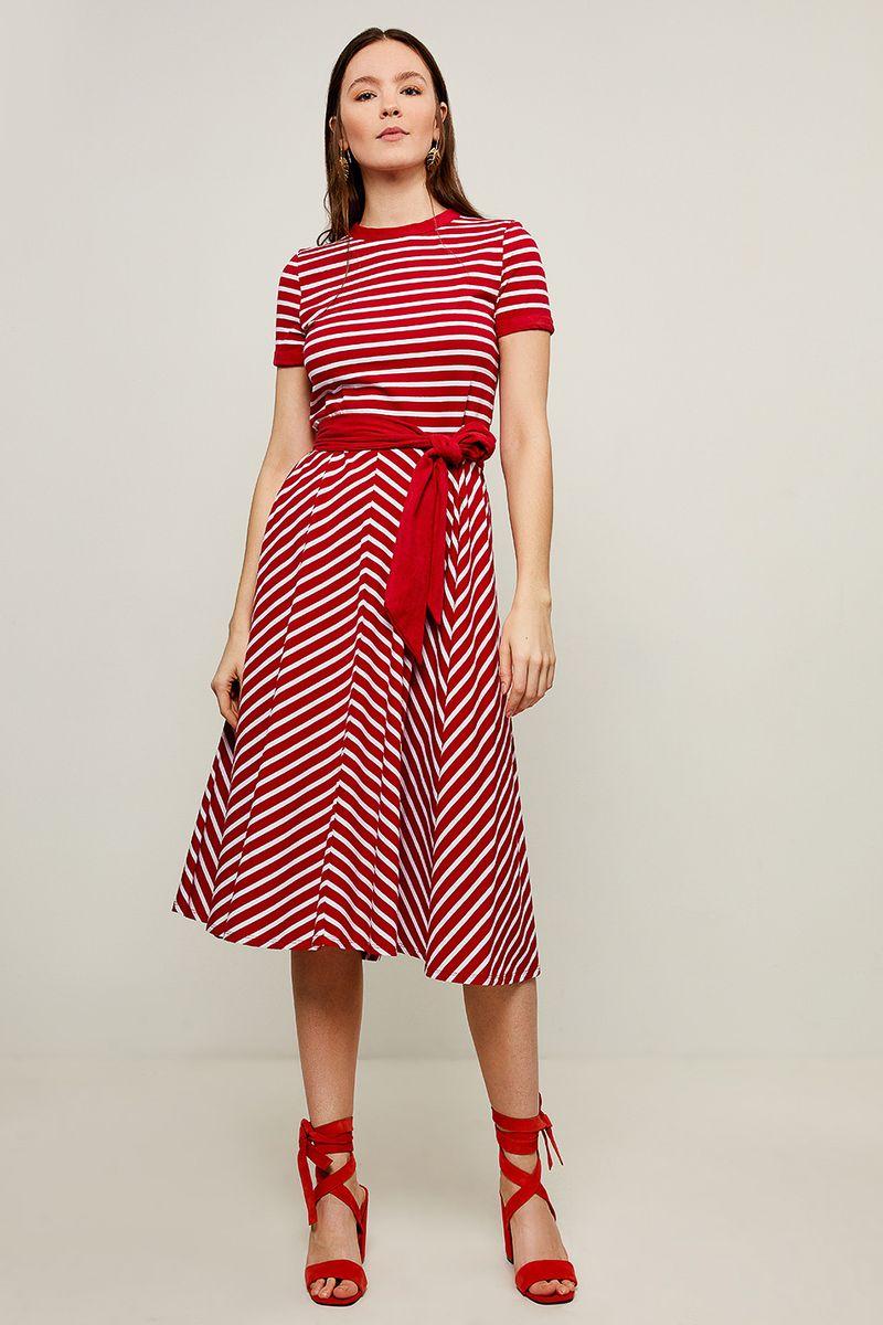 Платье Zarina, цвет: красный. 8225027527074. Размер 42