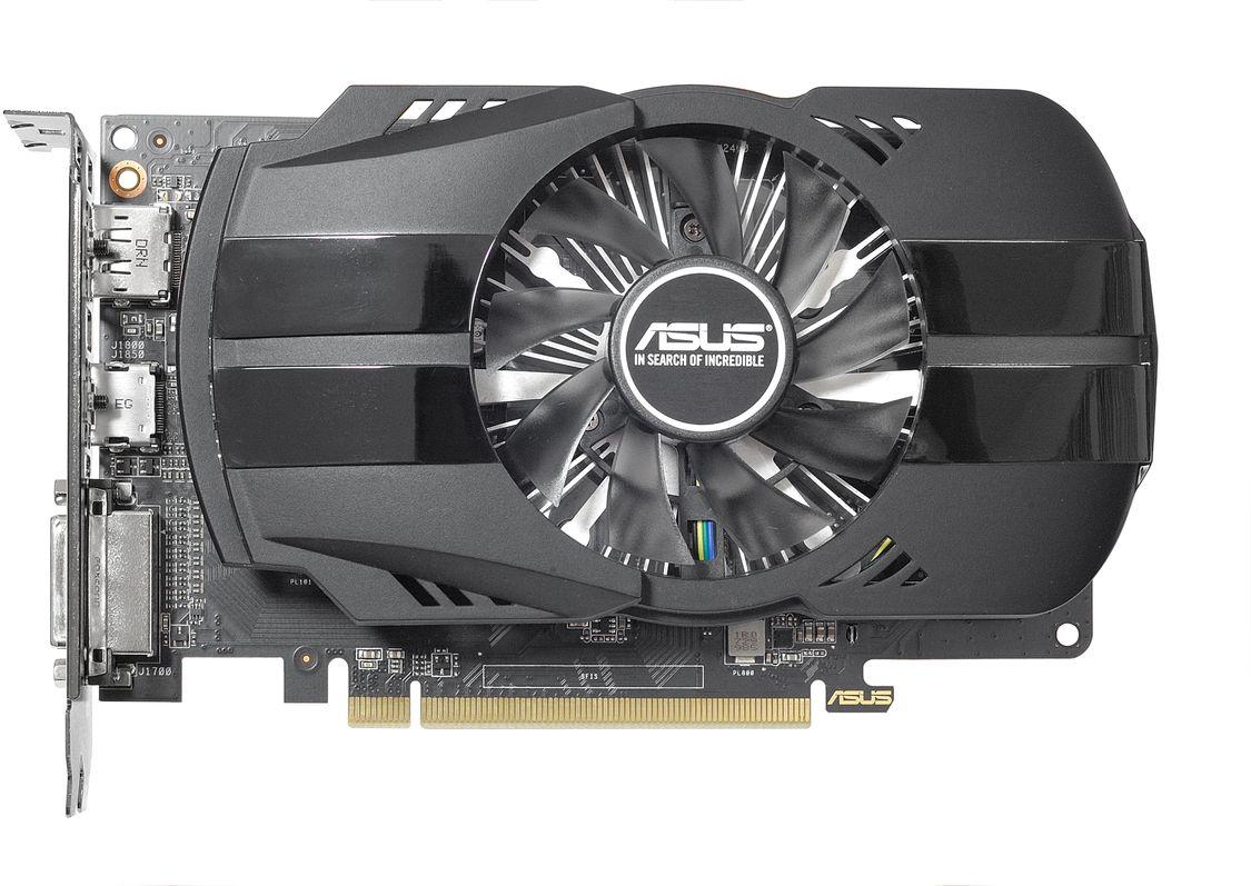 ASUS Phoenix Radeon RX 550 4GB видеокарта