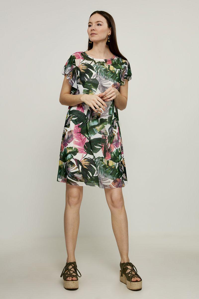 Платье Zarina, цвет: разноцветный. 8225005505099. Размер 44 платье zarina цвет зеленый 8224001501012 размер 44