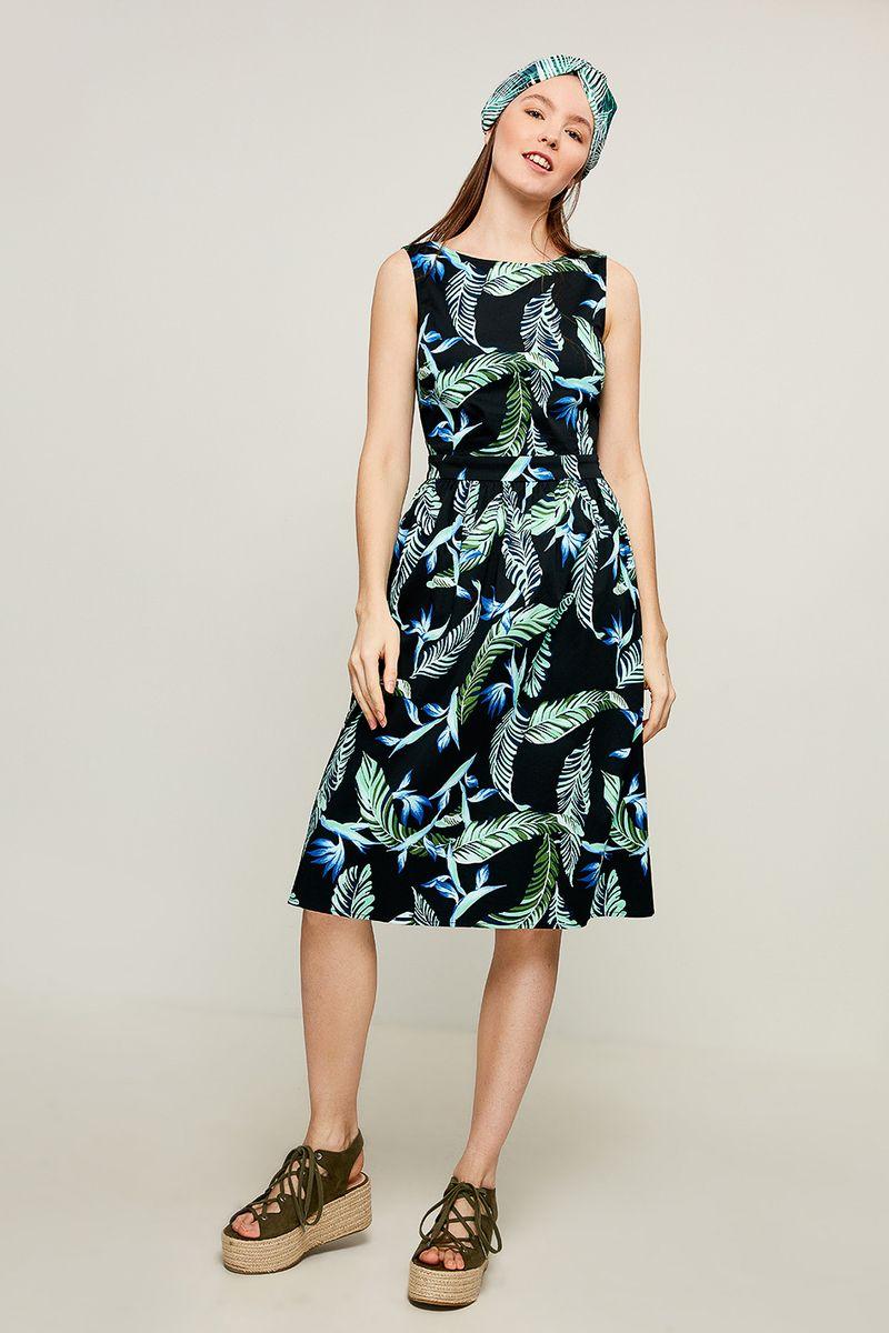 Платье Zarina, цвет: разноцветный. 8225016516052. Размер 44 платье zarina цвет зеленый 8224001501012 размер 44