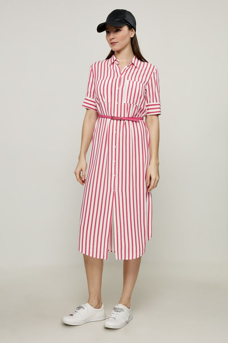 Платье Zarina, цвет: розовый. 8224037537090. Размер 508224037537090