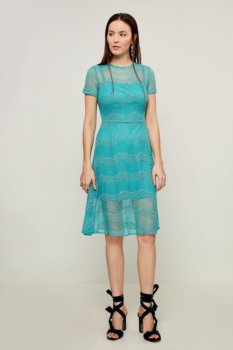 Платье Zarina, цвет: светло-зеленый. 8225054554011. Размер 42
