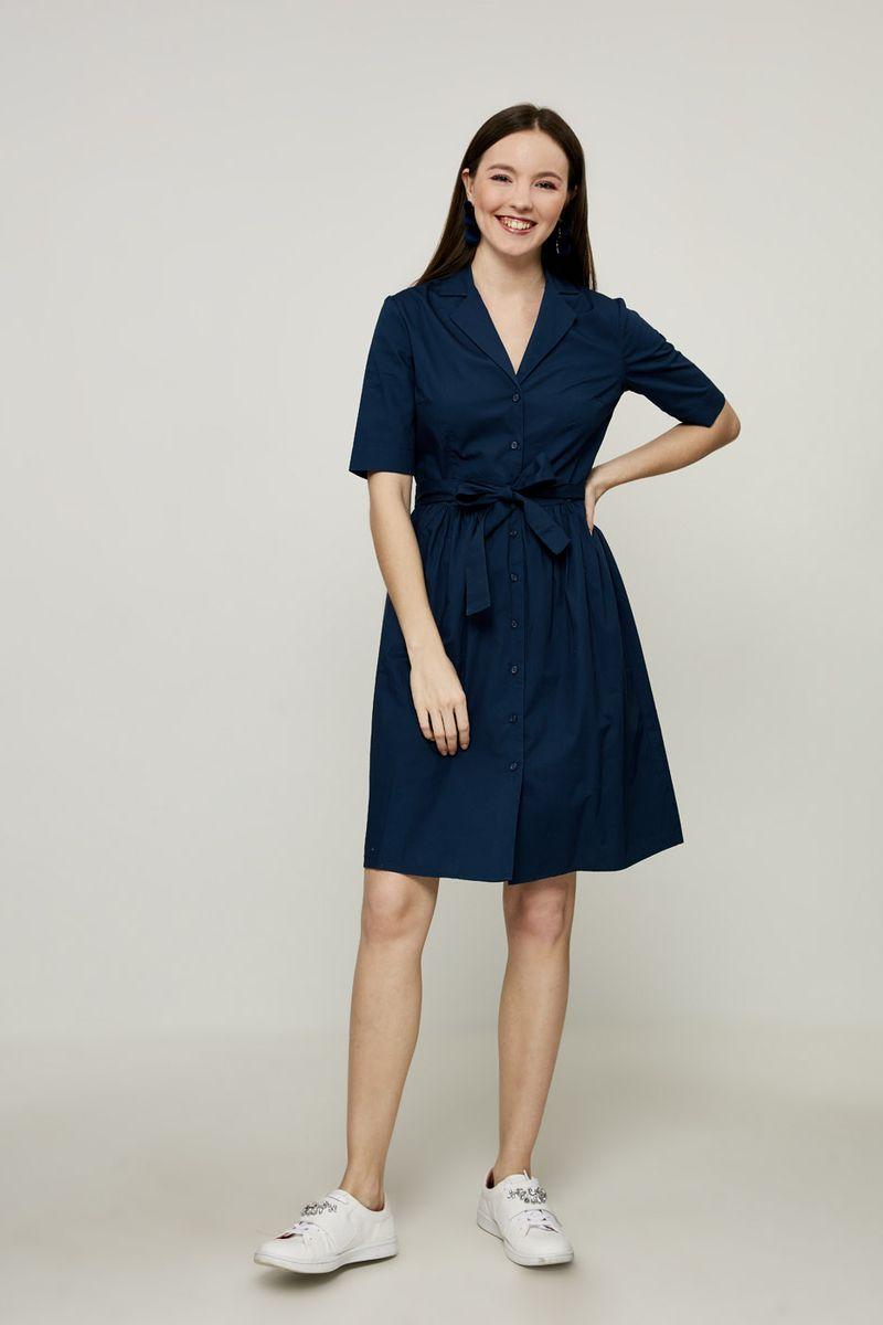 Платье Zarina, цвет: синий. 8224015515040. Размер 42 брюки zarina zarina za004ewxrm01