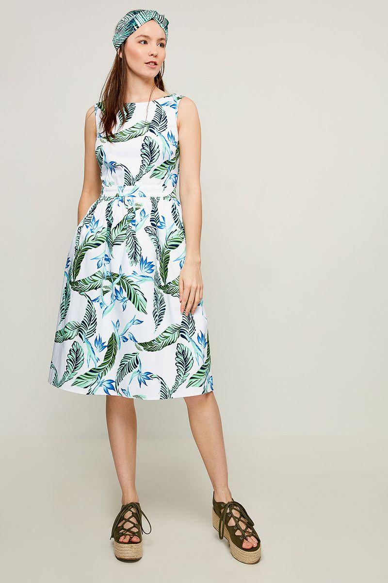 Платье Zarina, цвет: синий. 8225016516016. Размер 46 брюки zarina zarina za004ewxrm01
