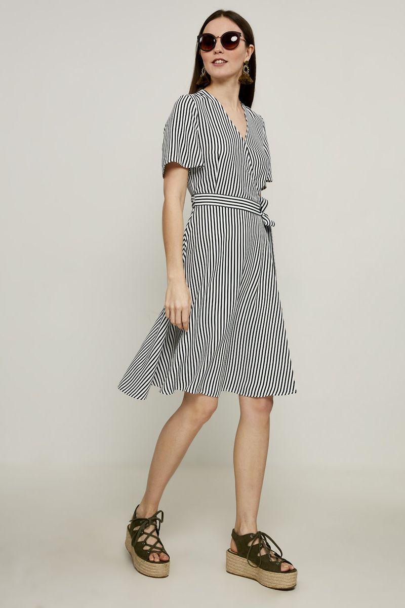 Платье Zarina, цвет: черный. 8224003503054. Размер 42 брюки zarina zarina za004ewxrm01