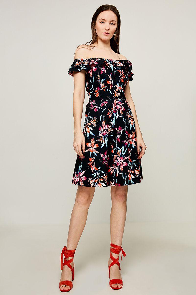 Платье Zarina, цвет: черный. 8225011511055. Размер 48 абдуллин н пер феи незабудки чаепитие и фей книжка с наклейками более 60 наклеек