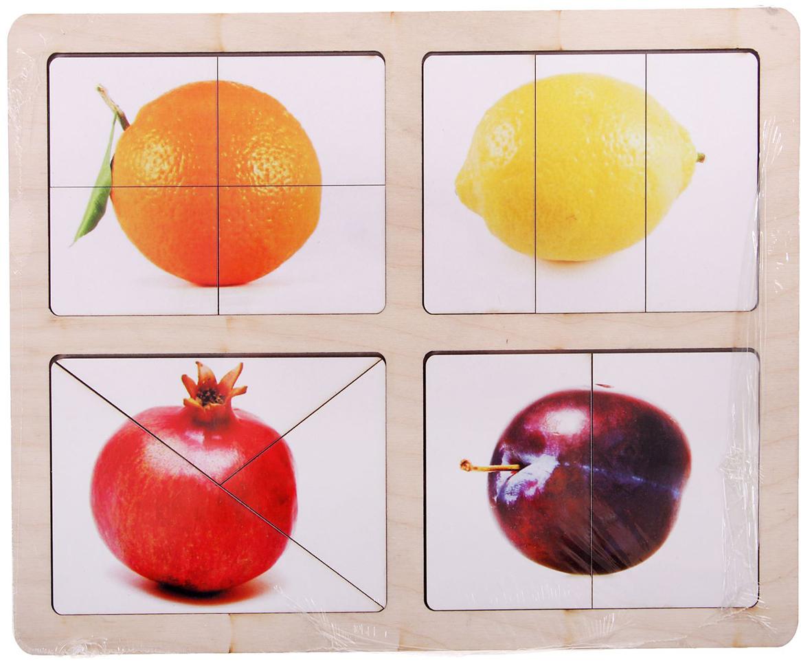 Smile Decor Обучающая игра Разрезные картинки Фрукты-2 smile decor обучающая игра волшебный комодик