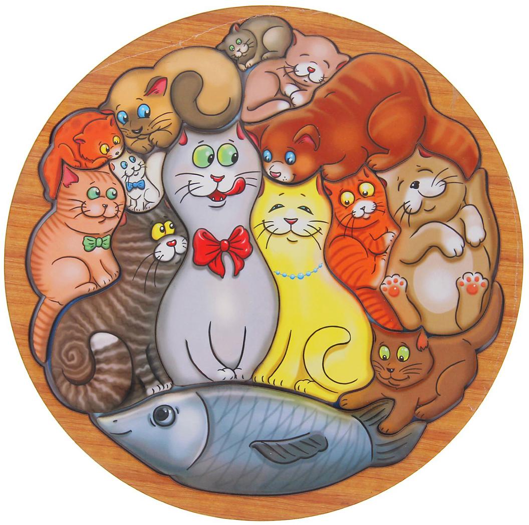 Smile Decor Обучающая игра Головоломка Коты головоломка smile decor коты 1481959