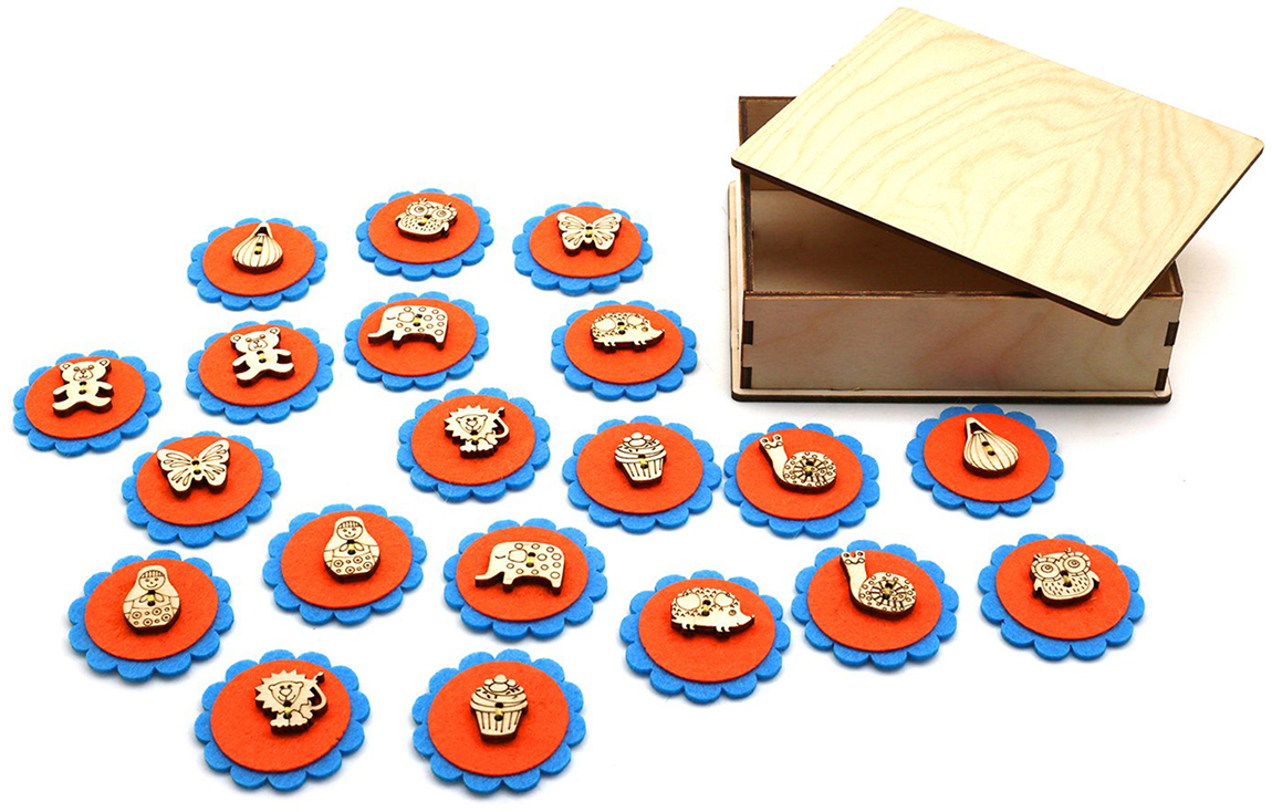 Smile Decor Обучающая игра Мемо Кругляшки smile decor обучающая игра машины цвет голубой