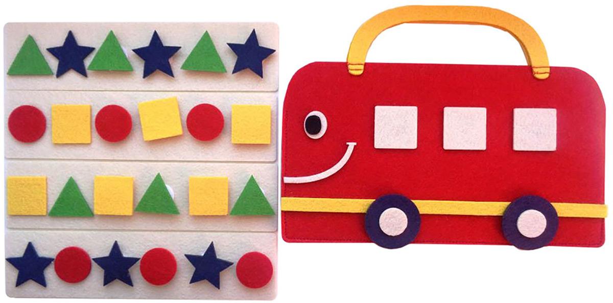 Smile Decor Обучающая игра Сумка игралка Автобус smile decor обучающая игра волшебный комодик