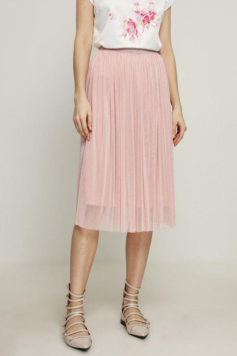 Купить Юбка Zarina, цвет: розовый. 8224217207090. Размер 44