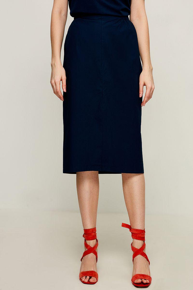 Юбка Zarina, цвет: темно-синий. 8225211202047. Размер 42 юбка zarina цвет темно зеленый 8224206203017 размер 50