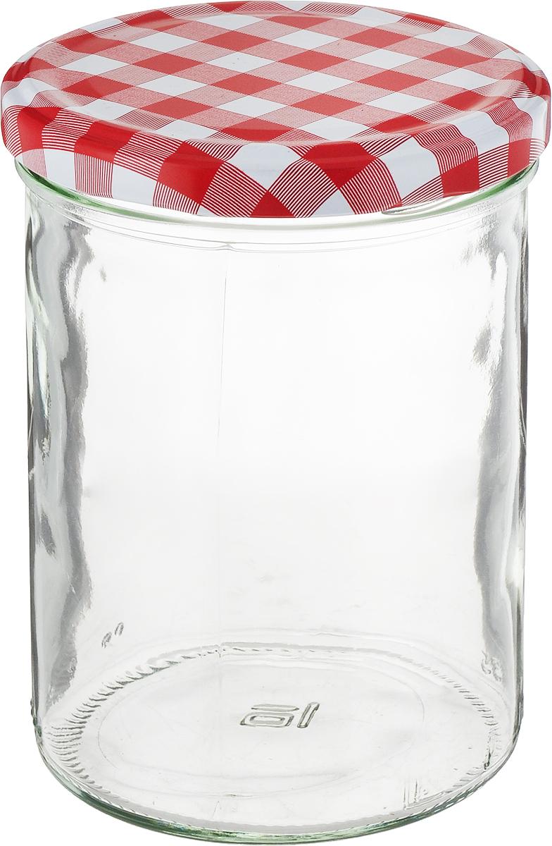 Банка для сыпучих продуктов Einkochwelt Twist, с крышкой, 435 мл002345Банка для сыпучих продуктов Einkochwelt Twist изготовлена из прочного стекла и дополнена металлической крышкой. Такая модель станет незаменимым помощником на любой кухне. В ней будет удобно хранить сыпучие продукты, такие, как чай, кофе, соль, сахар, крупы, макароны и многое другое. Емкость плотно закрывается крышкой, благодаря которой дольше сохраняя аромат и свежесть содержимого. Оригинальная форма и цвет банки позволит ей стать не только полезным изделием, но и украшением интерьера вашей кухни.