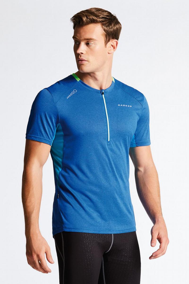 Веломайка мужская Dare 2b Attest Jersey, цвет: синий. DMT402-32V. Размер XL (56) футболка dare 2b