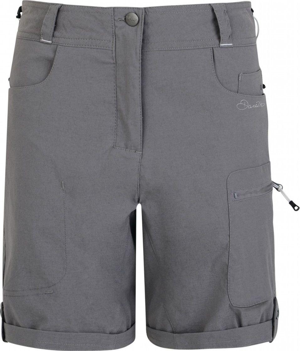 Велошорты женские Dare 2b Melodic Short, цвет: серый. DWJ336-65G. Размер 12 (44/46) футболка dare 2b dare 2b da017emaxbd3