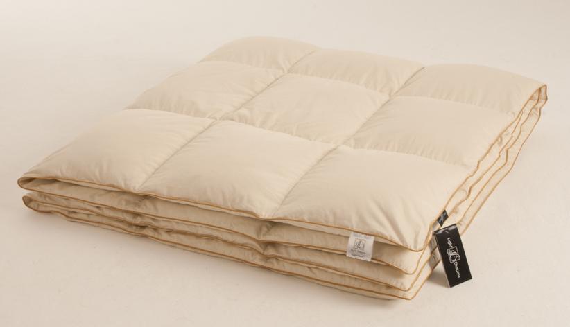 Одеяло легкое Легкие сны  Biiss , наполнитель: пух сибирского гуся категории  Экстра , 172 х 205 см -  Одеяла