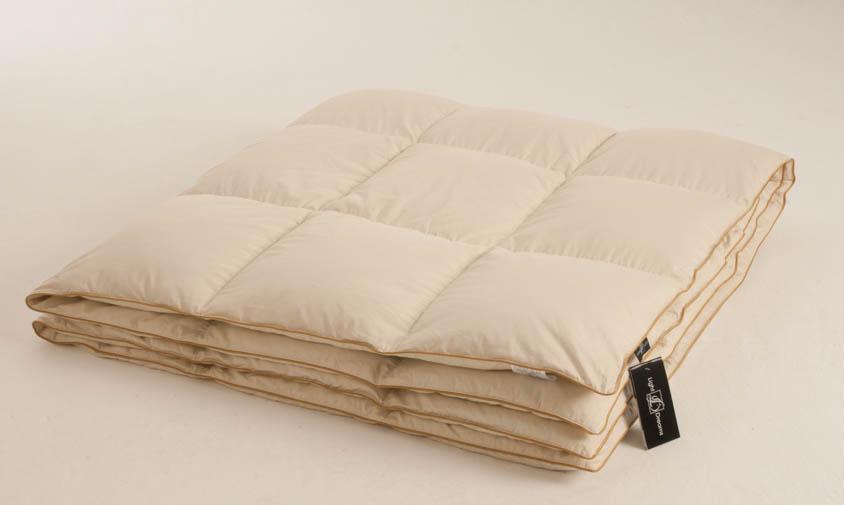 Одеяло теплое Легкие сны  Biiss , наполнитель: пух сибирского гуся категории  Экстра , 200 х 220 см -  Одеяла