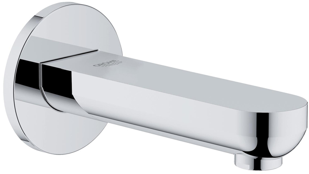 Излив для ванны GROHE BauCosmopolitan. 1325500013255000Излив для ванны с настенным монтажом. Хромированная поверхность. Аэратор, вынос 140 мм, внутренняя резьба 1/2.