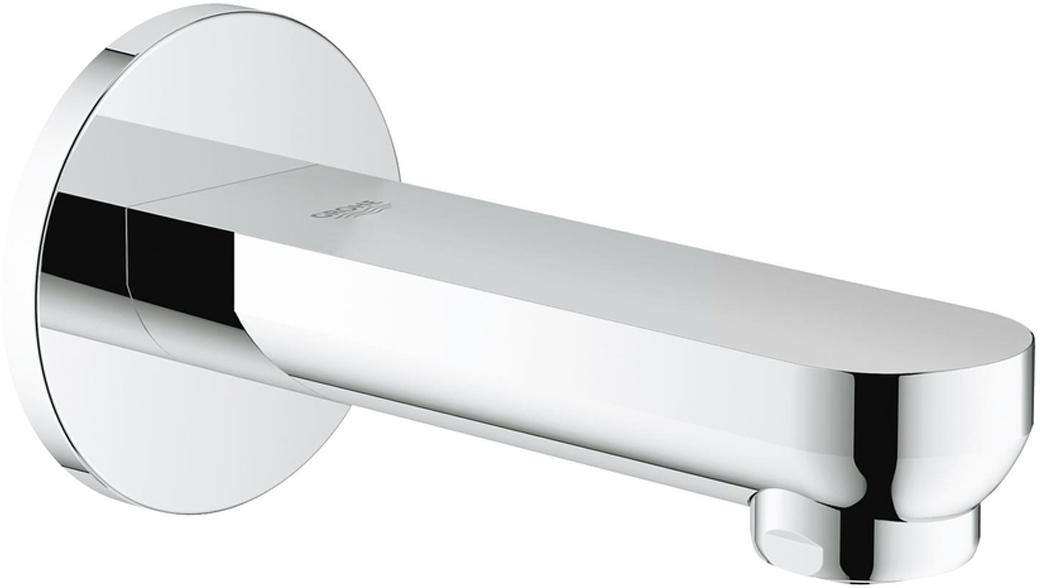 """Излив для ванны с настенным монтажом. Хромированная поверхность. Аэратор, внешняя резьба 1/2"""",вынос 170 мм, минимальное давление 1,0 бар."""