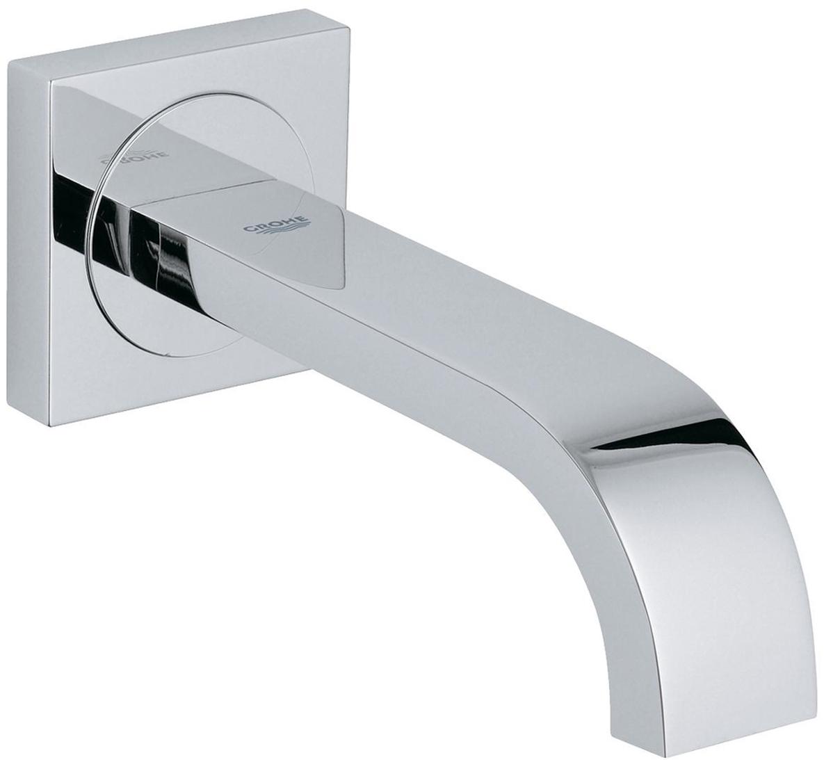 Излив для ванны GROHE Allure. 1326400013264000Излив для ванны с настенным монтажом. Хромированная поверхность. Вынос 172 мм, аэратор, минимальное давление 1,0 бар.