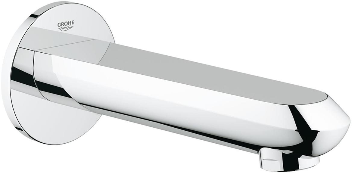 """Излив для ванны с настенным монтажом. Хромированная поверхностью Аэратор, внешняя резьба 1/2"""", вынос 170 мм, минимальное давление 1,0 бар."""