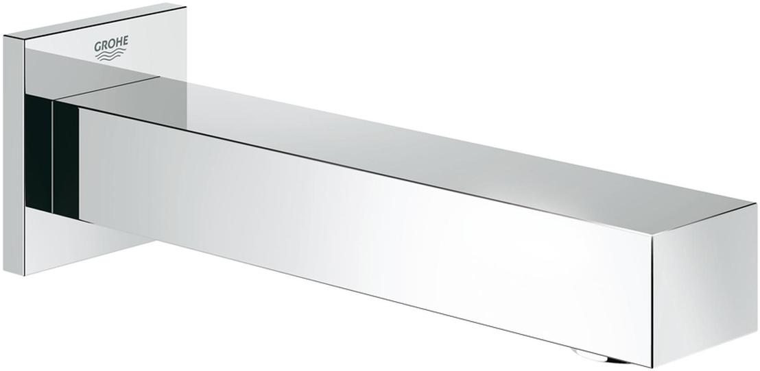 Излив для ванны GROHE Universal Cube. 1330300013303000Излив для ванны с настенным монтажом. Хромированная поверхность. Аэратор, внешняя резьба 1/2, вынос 170 мм, минимальное давление 1,0 бар.