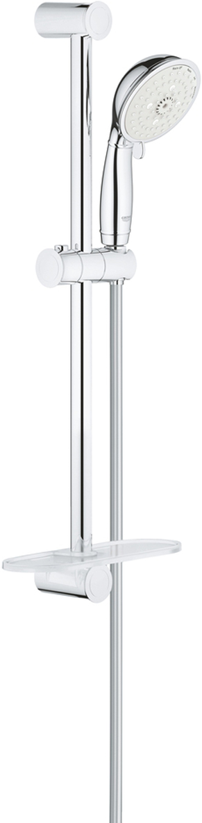 Душевой гарнитур GROHE New Tempesta Rustic, с полочкой. 26086001 шланг душевой grohe 28362000 silverflex 1250 мм