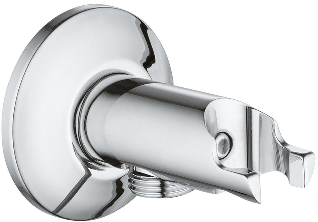 Автоматический клапан с держателем для гигиенического душа GROHE Start. 2633300026333000Автоматический клапан с держателем гигиенического душа. У клапана резьбовое соединение 1/2.Держатель изготовлен из металлического сплава с хромированной поверхностью.