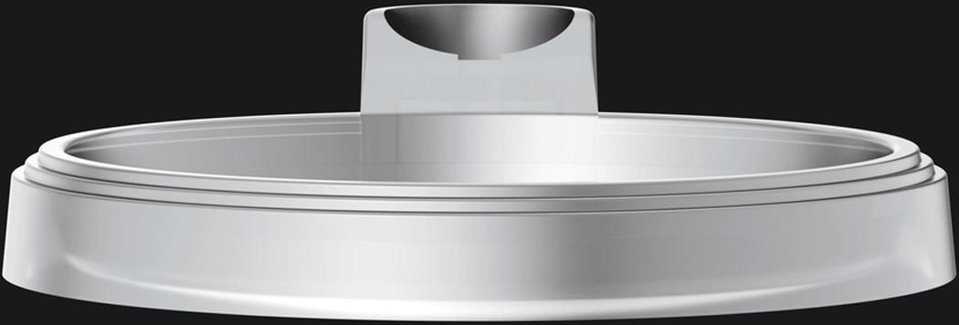 Дополнительная круглая мыльница к душевой стойке. Прозрачнаячастично структурная поверхностькрепление на штангу O 25 mm