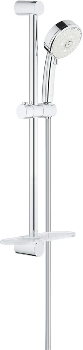 Душевой гарнитур GROHE New Tempesta Cosmopolitan, с полочкой. 27577002 душевой трап pestan square 3 150 мм 13000007
