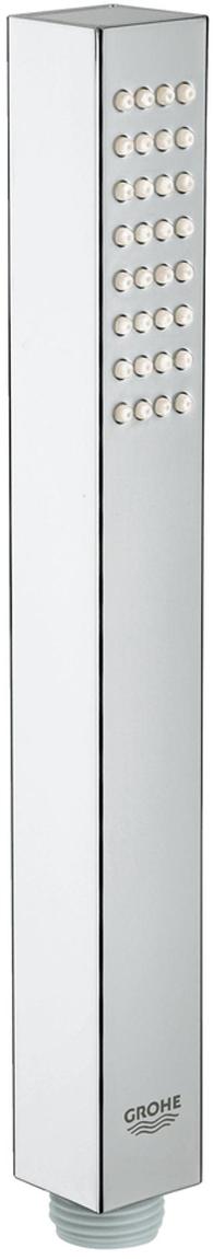 нормальная струяGROHE EcoJoy ограничитель расхода воды 9,5 л/минGROHE DreamSpray превосходный поток водыGROHE StarLight хромированная поверхностьс системой SpeedClean против известковых отложенийВнутренний охлаждающий канал для продолжительного срока службыуниверсальное крепление, подходящее к любому стандартному шлангуможет использоваться с проточным водонагревателемминимальное давление 1,0 бар