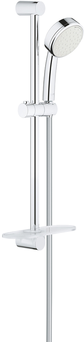 Душевой гарнитур GROHE Tempesta Cosmopolitan, с полочкой. 27928002 шланг душевой grohe 28362000 silverflex 1250 мм
