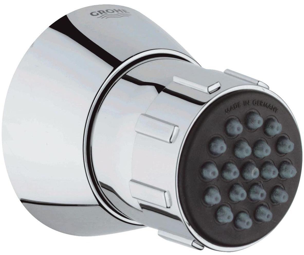 Душ боковой GROHE Relexa Plus. 2828600028286000Душ боковой с шаровым шарниром.Изготовлен из металла с хромированной поверхностью. Система SpeedClean против известковых отложений.