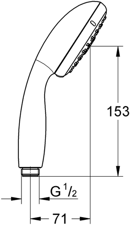 GROHE Rain O2, Rain, MassageGROHE EcoJoy ограничитель расхода воды 9,5 л/минGROHE DreamSpray превосходный поток водыGROHE StarLight хромированная поверхностьс системой SpeedClean против известковых отложенийВнутренний охлаждающий канал для продолжительного срока службыShockProof силиконовое кольцо, предотвращающее повреждение поверхности при падении ручного душауниверсальное крепление, подходящее к любому стандартному шлангуможет использоваться с проточным водонагревателемминимальное давление 1,0 бар