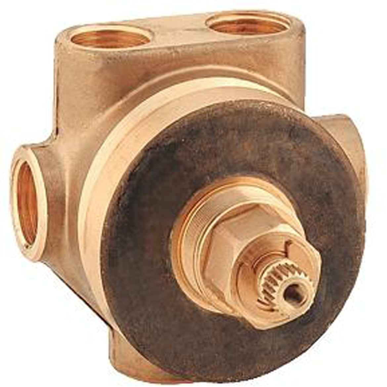 Переключатель на 5 положений GROHE Grohe Ondus. 2970800029708000Переключатель на 5 положенийGrohe Ondus. Встраиваемый механизм, 1/2. Переключатель без комплекта верхней монтажной части.Для скрытого монтажа.Переключательс керамическими шайбами. Подключение холодной или горячей воды 1/2.2 отвода 1/2.Отвод для ванны 3/4.Защитная втулка. У переключателя плавная регулировка глубины монтажа 24-60 мм.Переключатель изготовлен из DR-латуни.