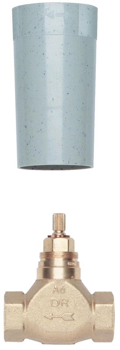 """Механизм скрытого вентиля предварительно смонтированная керамическая вентильная головка 1/2""""180°резьбовое соединение 1/2""""выравнивание глубины монтажа за счетсильфона25 - 80 mmDR-латунь."""