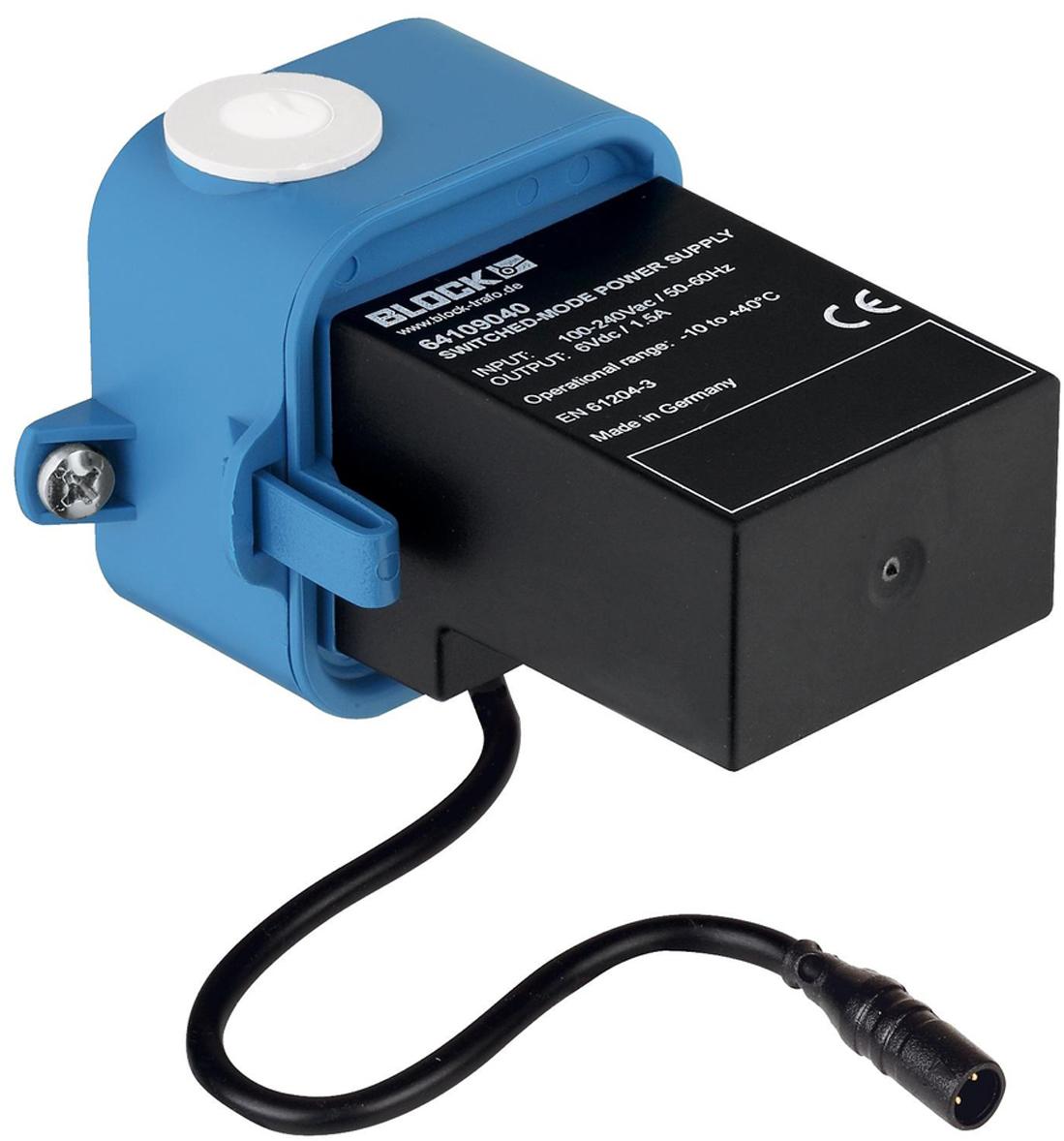 """Принадлежность для смесителя блок питания """"Ondus"""". Выходное напряжение 6 В. Длина кабеля 400 мм."""