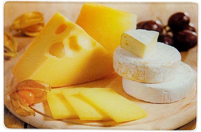 Доска разделочная Mayer & Boch Сыр . 23301-523301-5Многофункциональная кухонная разделочная доска выполнена из прочного термостойкого стекла с ярким и красочным рисунком. Удобная и практичная, она станет прекрасным дополнением к набору Ваших кухонных принадлежностей. Стеклянная доска идеальна для разделки сырого мяса или рыбы, нарезки овощей, фруктов и даже для раскатки теста. За счет свойств стекла, доска не впитывает запахи и способна выдержать длительное использование. Также эту разделочную доску можно использовать как красивый поднос или как подставку под горячее. Прочная стеклянная поверхность устойчива к воздействию высоких температур, а также к сколам и царапинам. Оригинальный, стильный дизайн этой разделочной доски украсит любой кухонный интерьер. Доску легко мыть теплой водой с моющим средством. Подходит для мытья в посудомоечной машине.