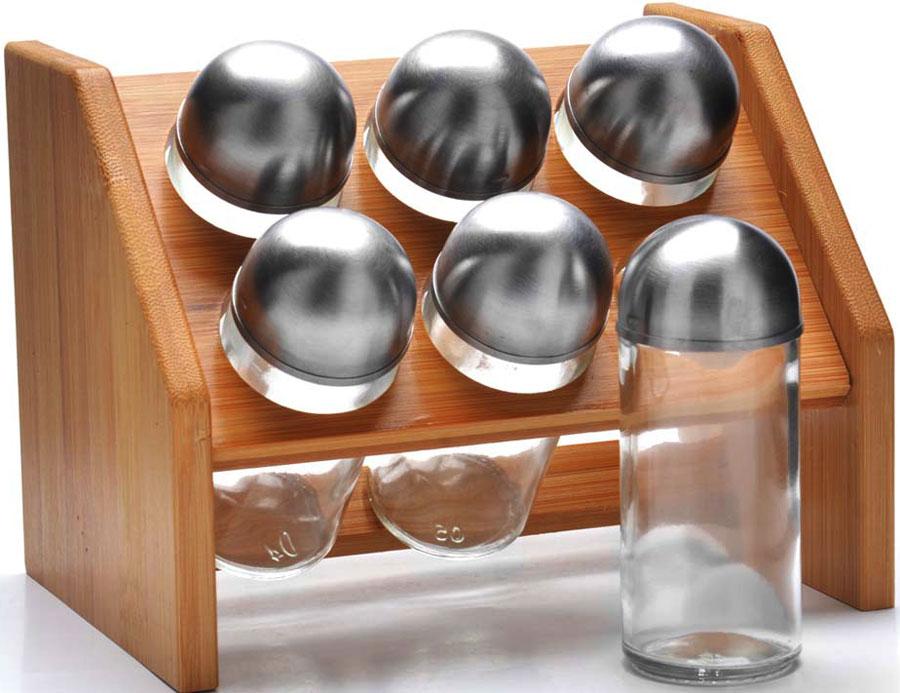 Набор для специй MAYER&BOCH из высококачественного стекла, идеально подходит для любой кухни. Модный, элегантный дизайн, скрасит интерьер Вашей кухни.  Баночки можно наполнять любыми, используемыми Вами специями. Герметичное закрытие, обеспечит самое лучшее хранение.  Специи всегда будут свежими. Специальная подставка, делает хранение баночек еще более удобным.