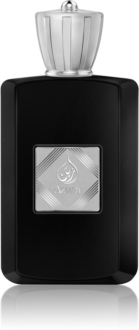 Afnan Azyan Black Парфюмерная вода мужская, 100 мл211738Древесно-цитрусовый аромат с нотами океанской свежести и амбры.